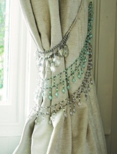 Home decoration with beads