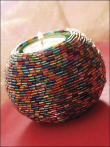 How to decorate home with beads
