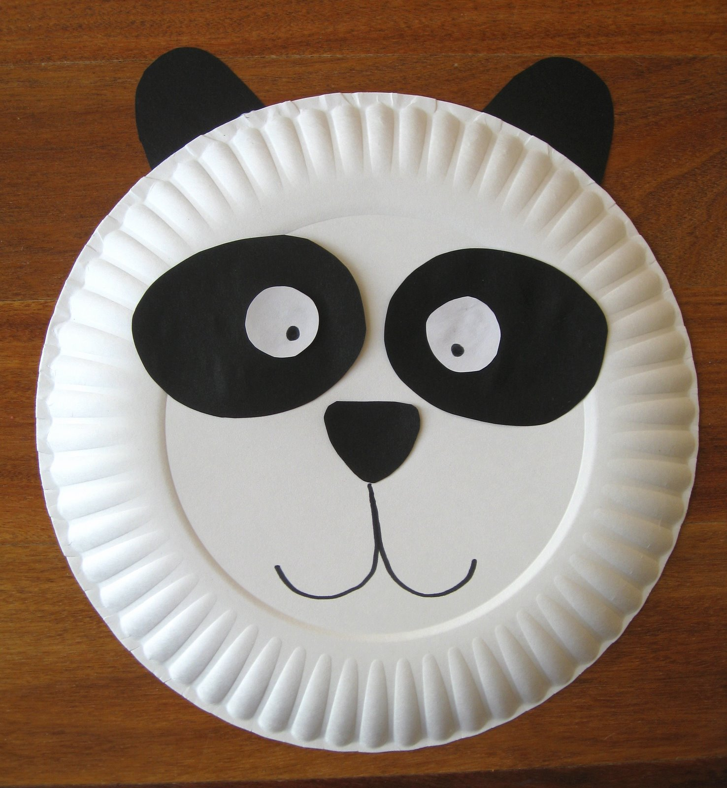 Panda Crafts For Preschoolers