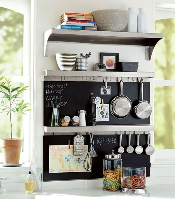 Creative diy storage ideas for small spaces and apartments for Kitchen organization ideas small spaces