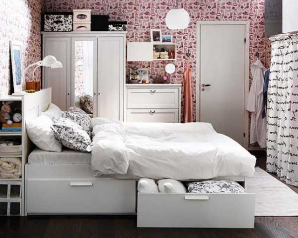 table. side furniture storage picture creative bedroom the  with See of storage ideas bedroom small small