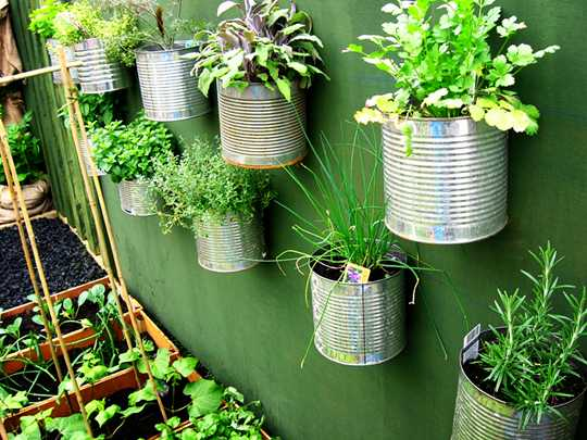 wall garden ideas diy