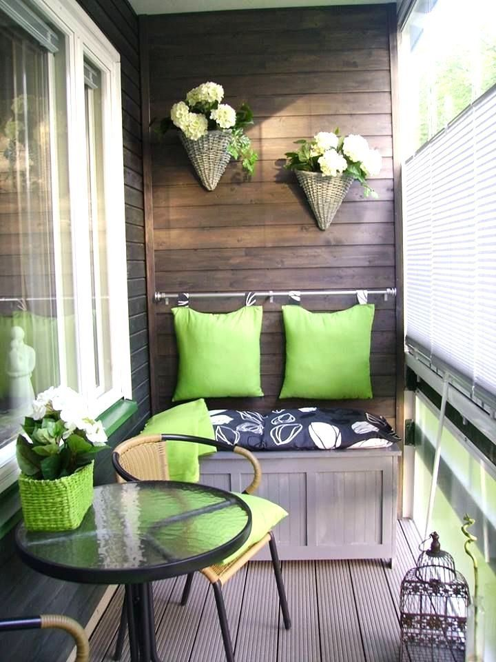 Small balcony decorating ideas for modern homes for In the balcony