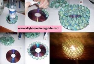 old cd project tutorial DIY