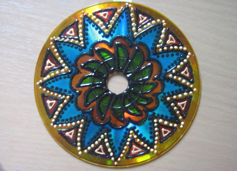 Diy Wall Decoration With Cd : Easy old cd projects ideas diy for home decoration