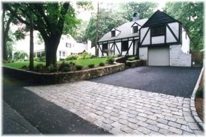 simple driveway landscapes