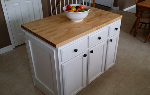 Diy Kitchen Cabinets Easy Diy Kitchen Island By