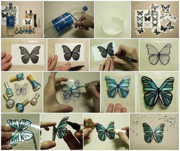 Diy crafts ideas from recycled materials for Recycle project ideas