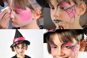 Halloween face paintings tutorials
