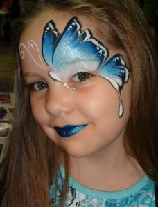 Kids face paintings for halloween