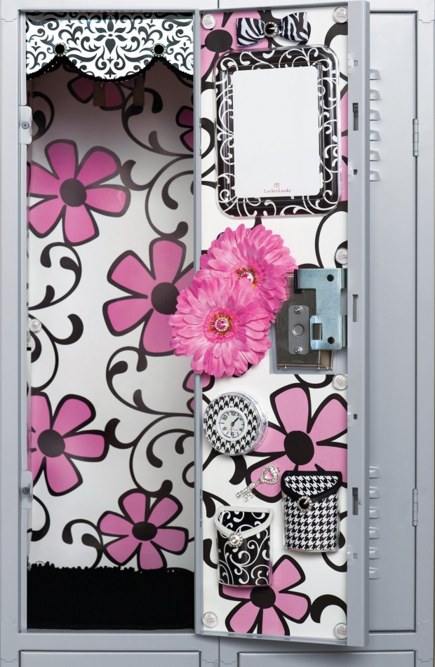 Easy DIY Locker Decorations Ideas For Teenagers: diyhomedecorguide.com/diy-locker-decorations