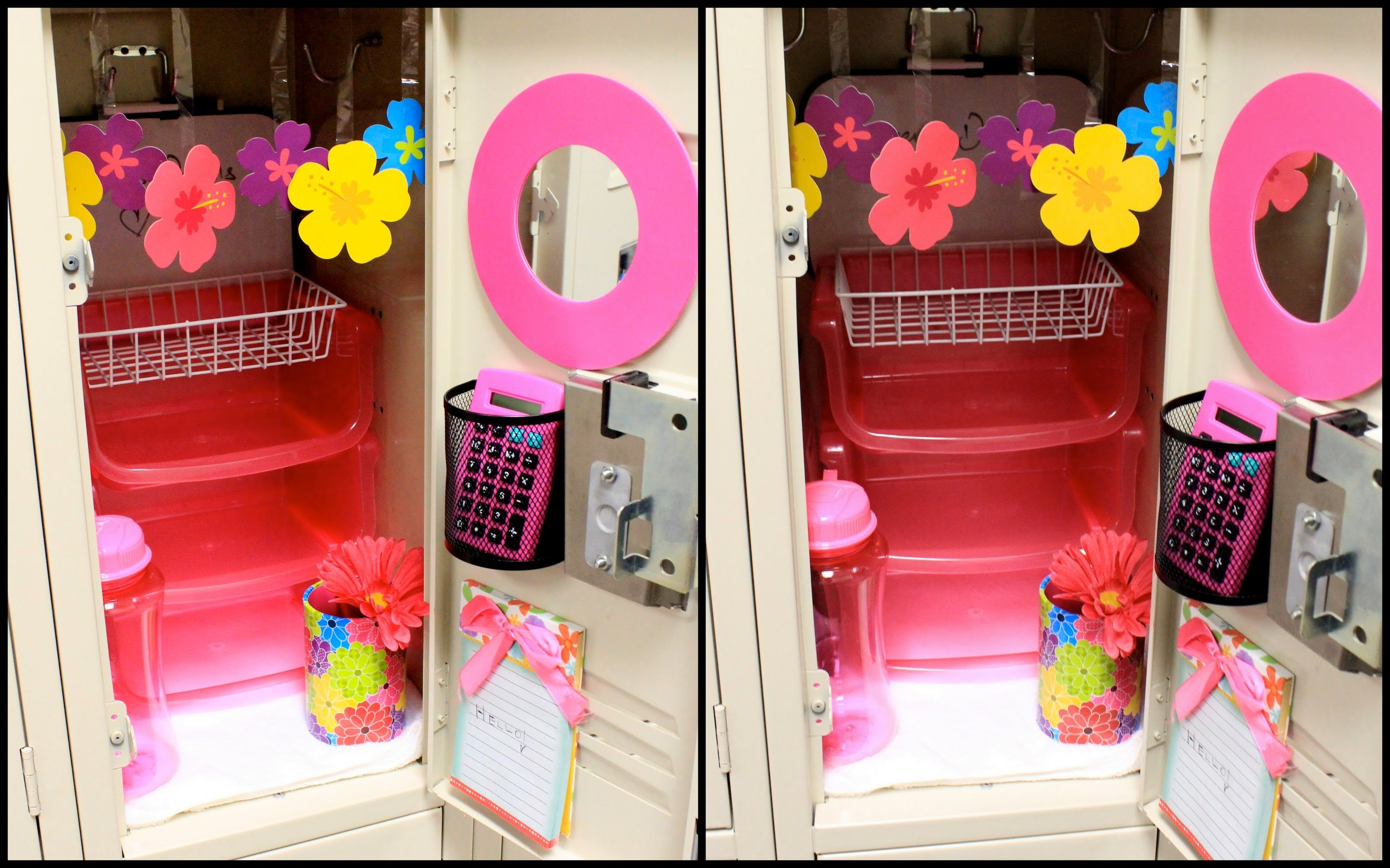 Easy diy locker decorations ideas for teenagers for Decoration stuff