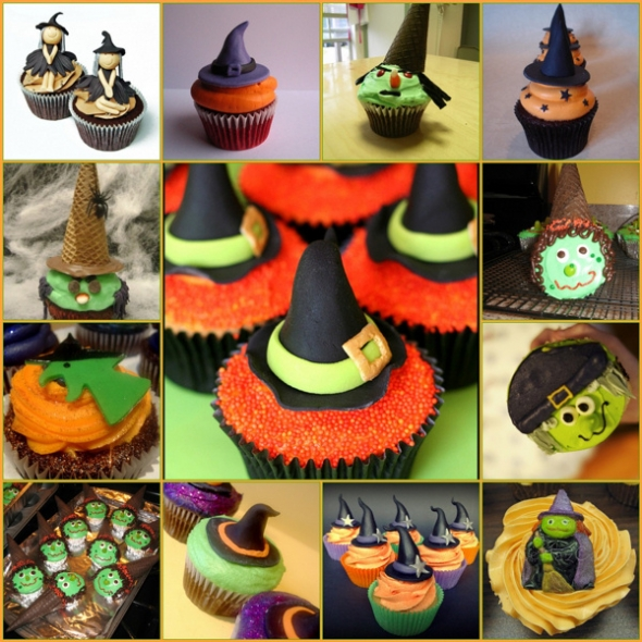 Diy halloween party ideas 2014 decoration and treats Halloween cupcakes