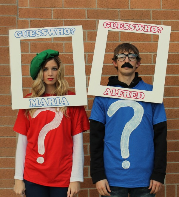last minute diy halloween costumes for couples - Quick Scary Halloween Costumes