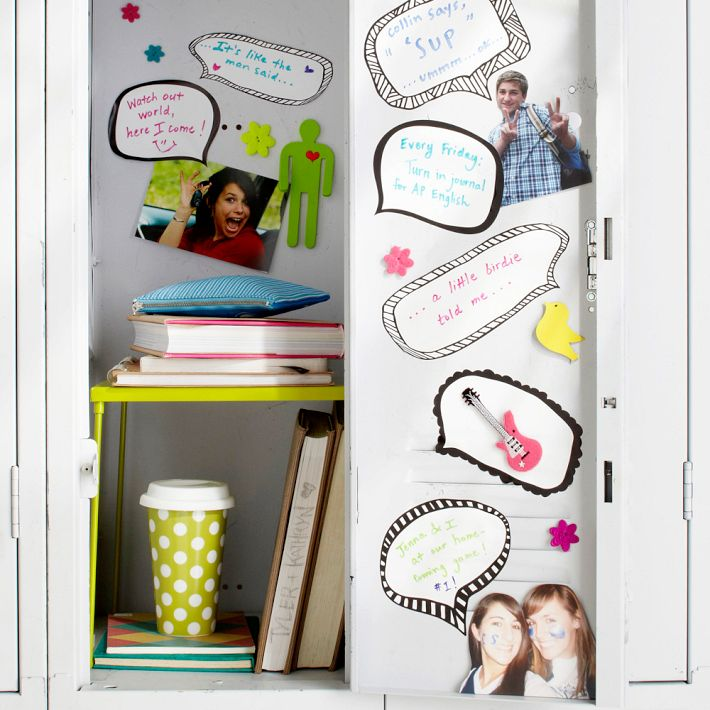 easy diy locker decorations ideas for teenagers