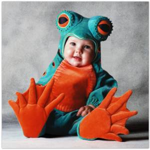 Frog costume ideas for babies