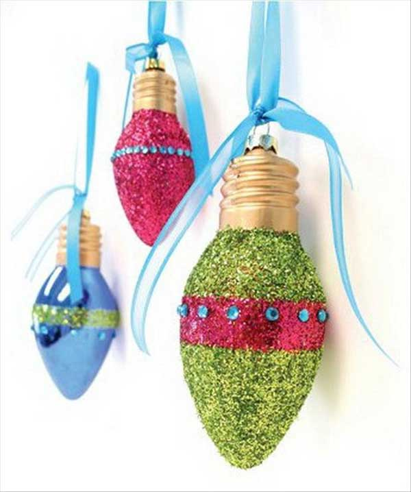 20 diy christmas decorations and crafts ideas for Homemade christmas ornaments to make
