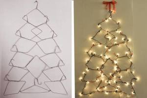 Artificial holiday trees DIY