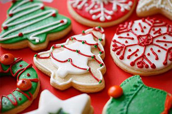 Astonishing Christmas Cookie Decorating Christmas Holiday Cookies Yurga Net Easy Diy Christmas Decorations Tissureus