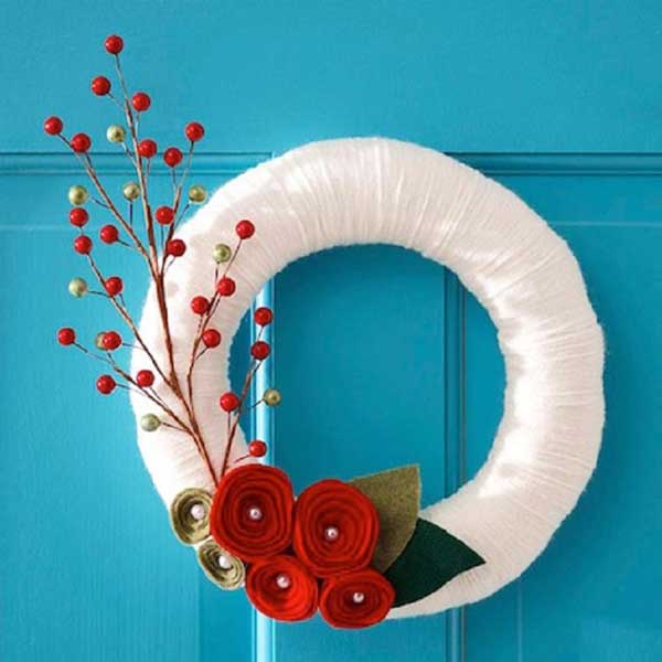 Easy christmas decorations diy ideas and tutorials for Christmas decorations ideas to make at home