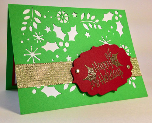 15 handmade creative christmas cards designs diy christmas holiday cards designs m4hsunfo Image collections