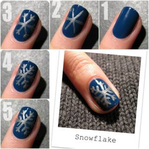 Christmas nail patterns 2014