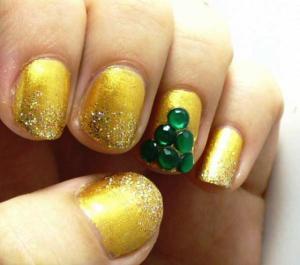 Christmas nail polish designs 2014