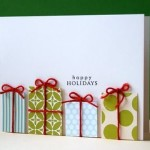 Cute Handmade holiday cards
