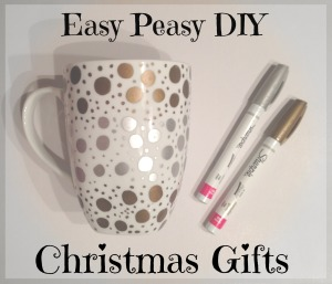 DIY Christmas mugs gifts