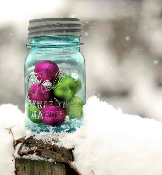 20 diy outdoor christmas decorations ideas 2014 for Outside xmas decorations