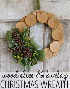 DIY christmas decorative wreaths