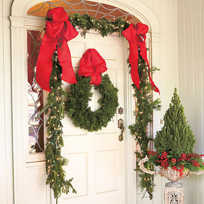 Diy Front Home Decorations Outdoor Christmas Decor Ideas