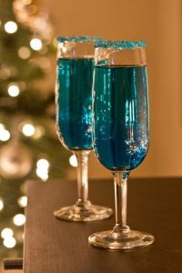 DIY new year party cocktail ideas