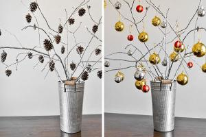 Easy christmas decorations DIy