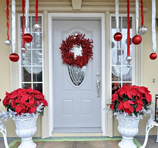 easy outdoor christmas decorations - Classic Outdoor Christmas Decorations