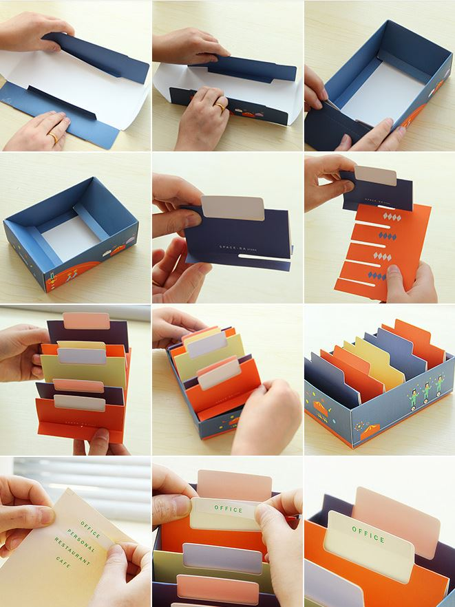Easy DIY Business Card Holder Ideas