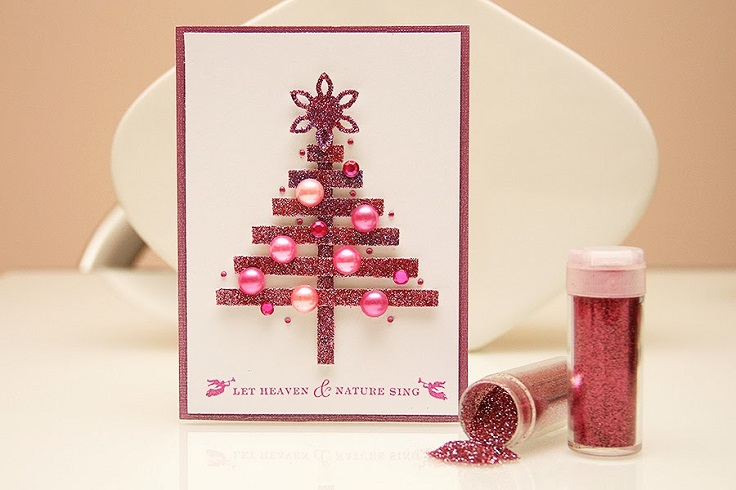 15 handmade creative christmas cards designs diy homemade holiday card designs christmas holiday cards designs m4hsunfo