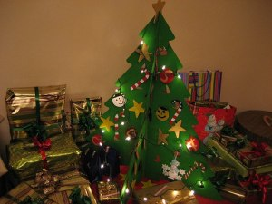 Homemade artificial christmas trees