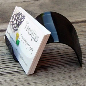 Easy diy business card holder ideas now fold each page of homemade business card holders diy reheart Image collections