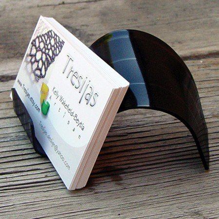 Easy diy business card holder ideas now fold each page of homemade business card holders diy colourmoves