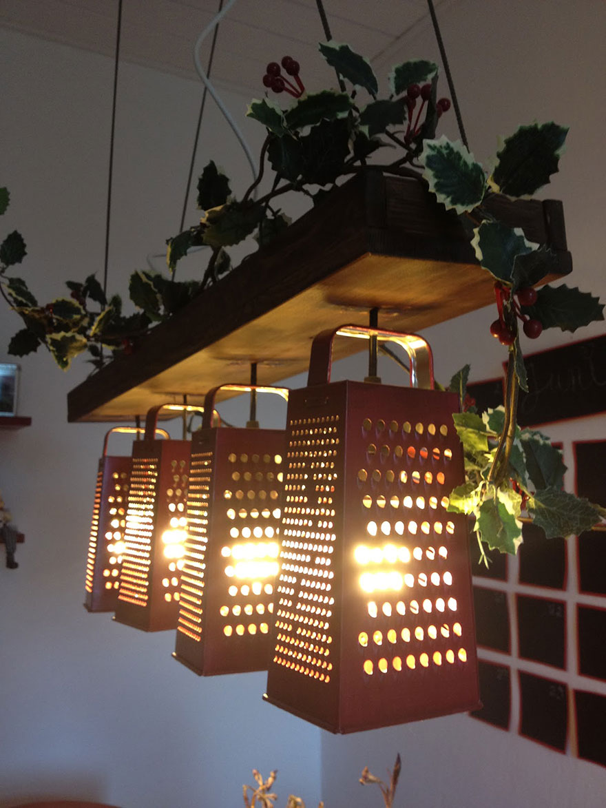 Light Fixtures From Recycled Things
