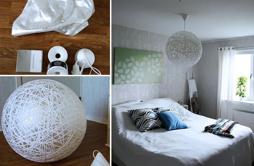 diy bedroom light decor diy light fixtures ideas from recycled materials 581