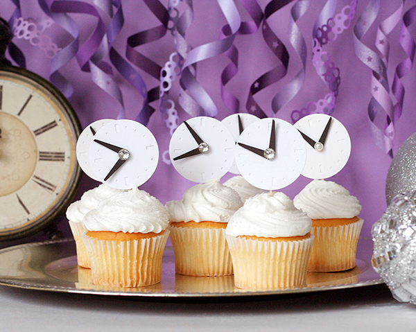 Cupcake Decorating Ideas New Years Eve : DIY New Year Eve Party Ideas 2015