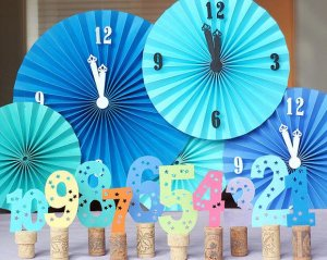 New year party eve decorations 2015