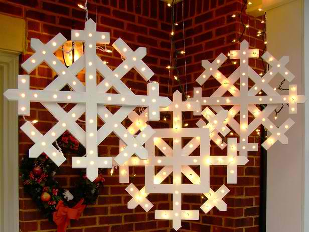 20 diy outdoor christmas decorations ideas 2014 - Ideas with christmas lights ...