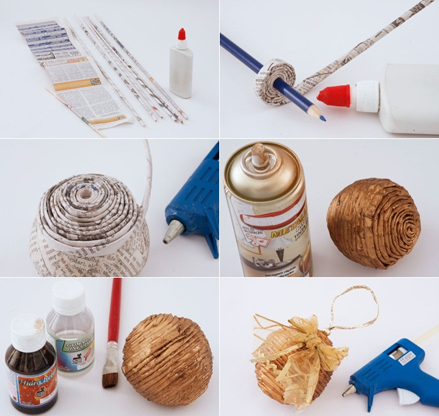 Diy christmas tree decoration ideas 2014 for Handmade decoration things step by step
