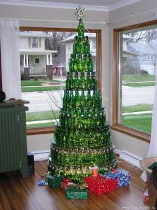 Unusual artificial christmas trees