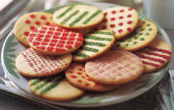 decorating cookies for christmas diy easy christmas cookies - Round Christmas Cookie Decorating Ideas
