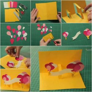 3D DIY birthday cards