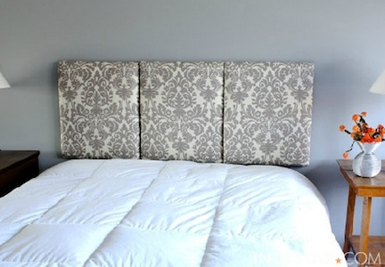 Easy diy bedroom decor ideas on budget Homemade headboard ideas cheap